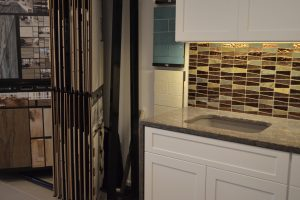 Kitchen Countertop with Tiles